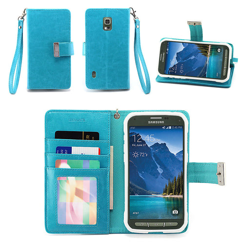 Samsung Galaxy S5 Active Wallet Phone Case Flip Cover