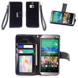 HTC One M8 Wallet Phone Case Flip Cover