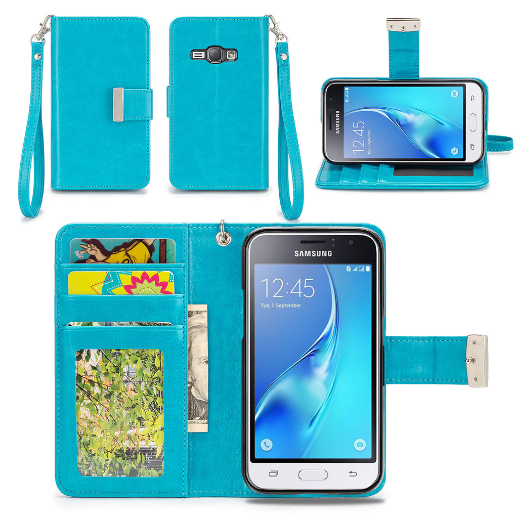Samsung Galaxy J1 (2016) Wallet Phone Case Flip Cover