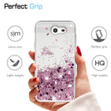 Samsung Galaxy J3 Prime Waterfall Glitter Phone Case Cover