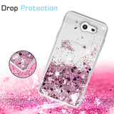 Samsung Galaxy J3 Emerge Waterfall Glitter Phone Case Cover