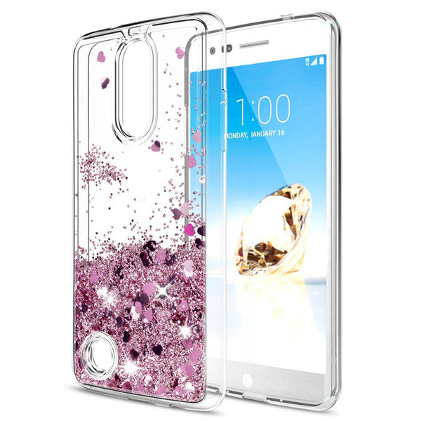 huge selection of a295b 31052 LG Aristo / LG Phoenix 3 Waterfall Glitter Phone Case Cover