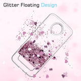 Motorola Moto Z2 Force Edition Waterfall Glitter Phone Case Cover