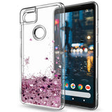 Google Pixel 2 XL Waterfall Glitter Phone Case Cover