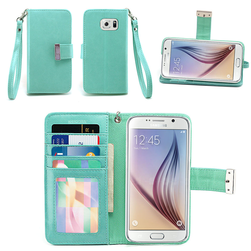 Samsung Galaxy S6 Wallet Phone Case Flip Cover