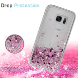 Samsung Galaxy S7 Edge Waterfall Glitter Phone Case Cover