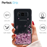 Samsung Galaxy S8 Plus Waterfall Glitter Phone Case Cover