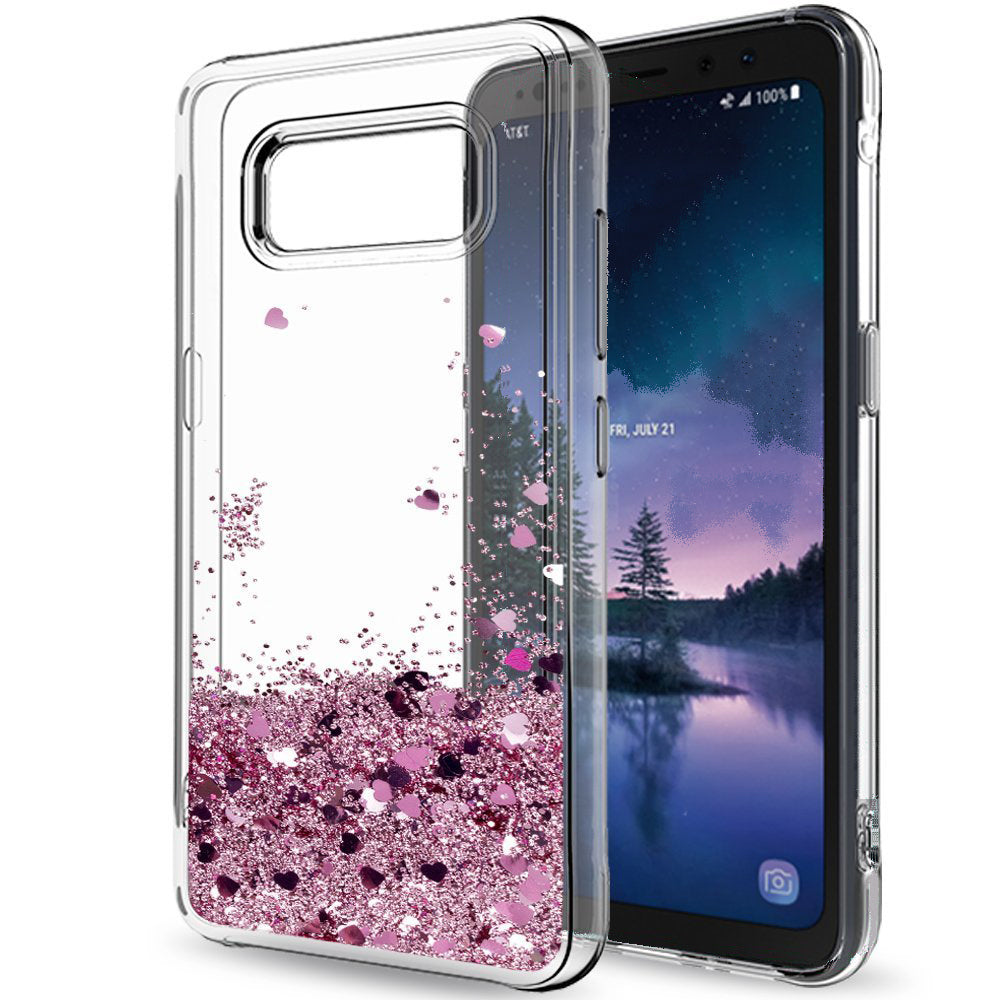 wholesale dealer fe051 42ae6 Samsung Galaxy S8 Plus Waterfall Glitter Phone Case Cover