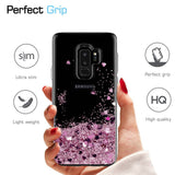 Samsung Galaxy S9 Plus Waterfall Glitter Phone Case Cover
