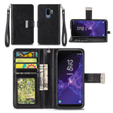 Samsung Galaxy S9 Plus Wallet Phone Case Flip Cover