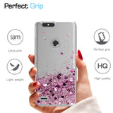 ZTE Zmax Pro 2 Waterfall Glitter Phone Case Cover