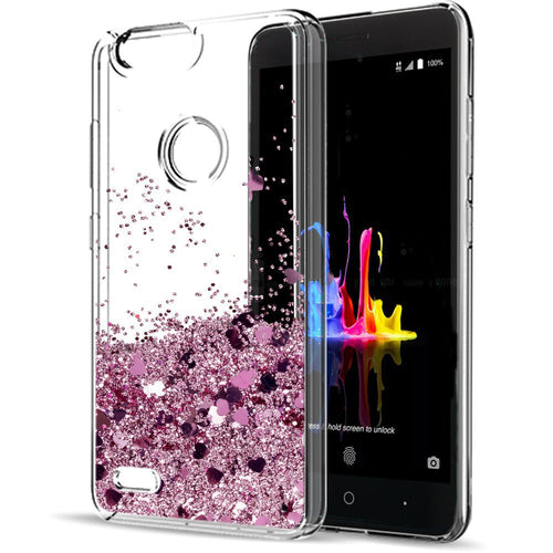 ZTE Blade Z Max Waterfall Glitter Phone Case Cover