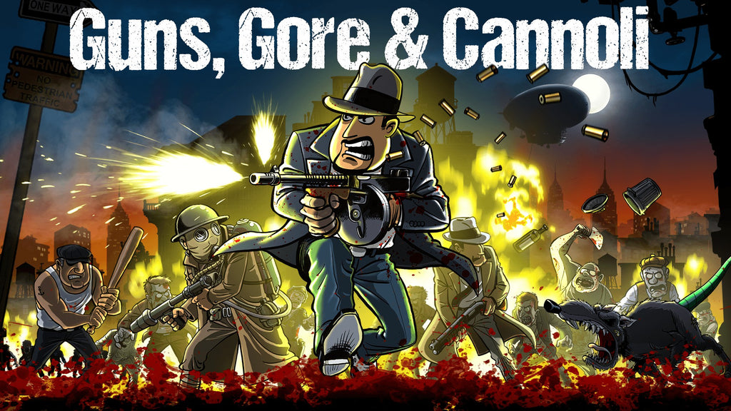 Guns, Gore & Cannoli (2D Action Platforming Video Game Review)