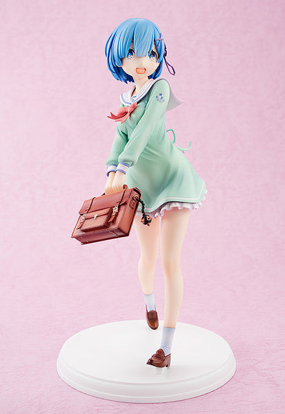 Rem High School Uniform Version - 1/7th Scale Figure - Re: Zero Starting Life in Another World (Pre-order)