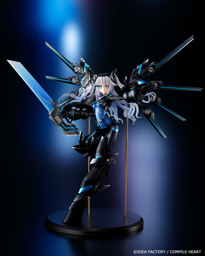 Noire (Next Black Heart Transformation) - 1/7th Scale Figure - Megadimension Neptunia VII (Pre-order)
