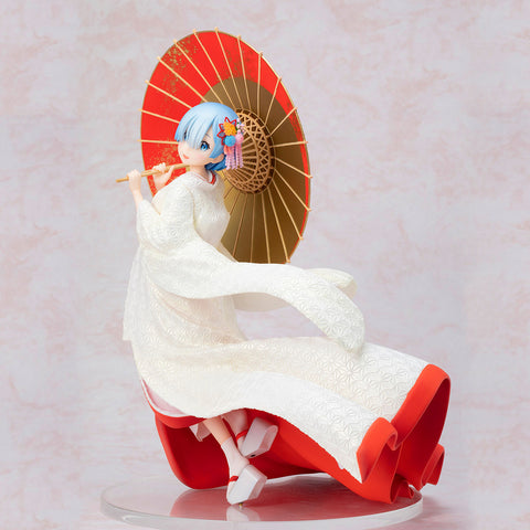 Rem - Shiromuku Version - 1/7th Scale Figure - Re:Zero (Pre-order)