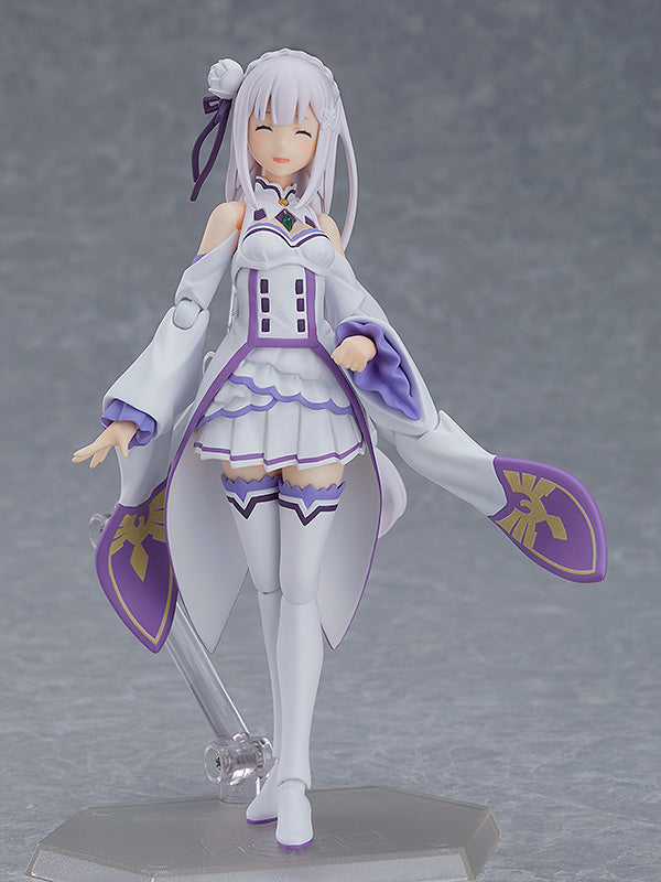 Emilia - figma - Re:ZERO -Starting Life in Another World- (Pre-order)
