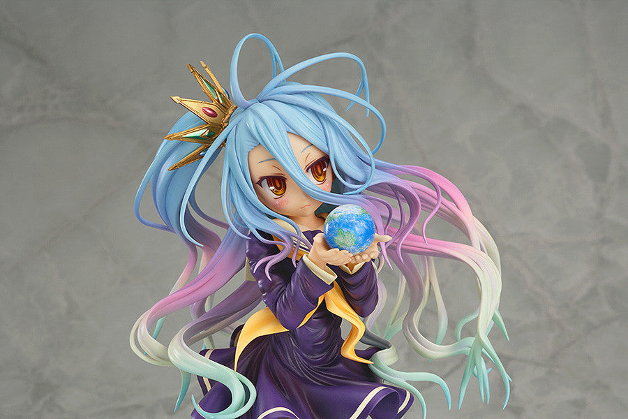 Shiro w/mini characters - 1/7th Scale Figure - No Game No Life