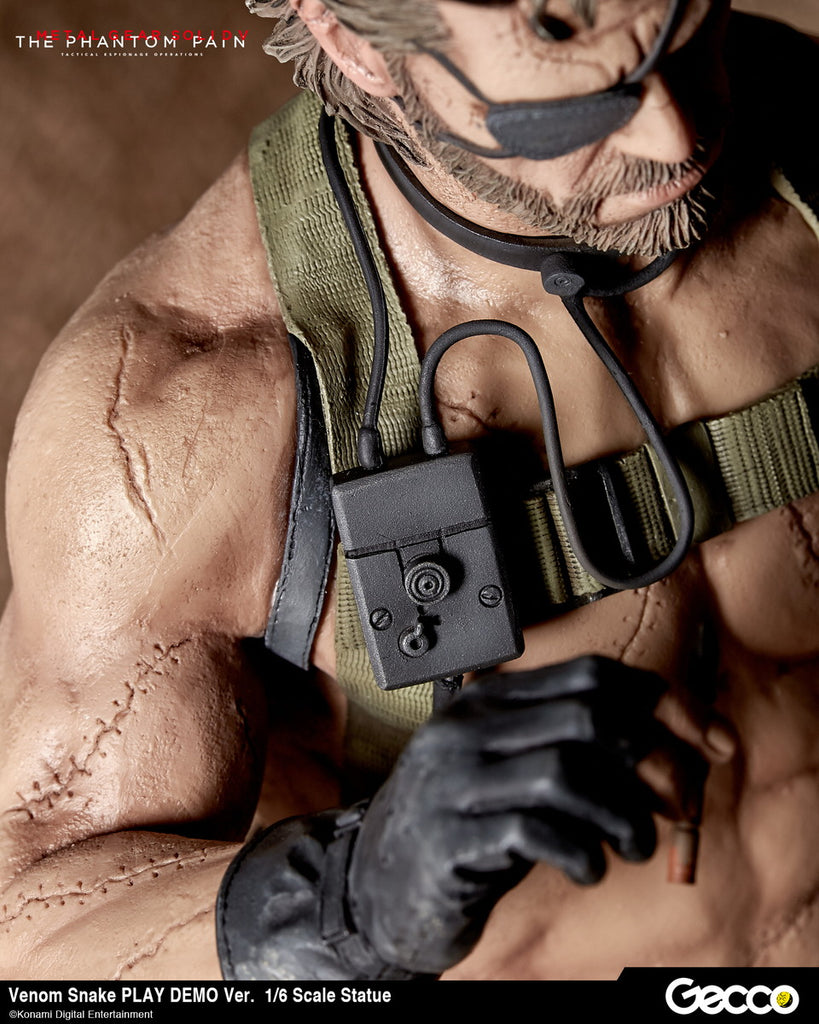 Venom Snake - 1/6th Scale Figure - Metal Gear Solid V: The Phantom Pain (Pre-order)