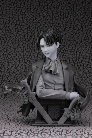 Levi - Up Figure - Gray - 1/3 Scale Bust - Attack on Titan (Pre-order)