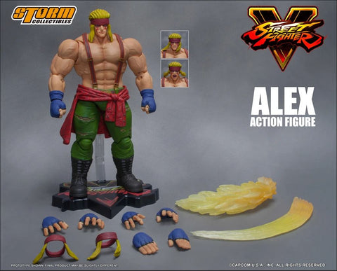 Alex - 1/12 Scale Action Figure - Street Fighter V