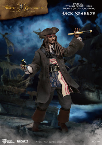Captain Jack Sparrow - 1/9th Scale Figure - Pirates of the Caribbean (Pre-order)