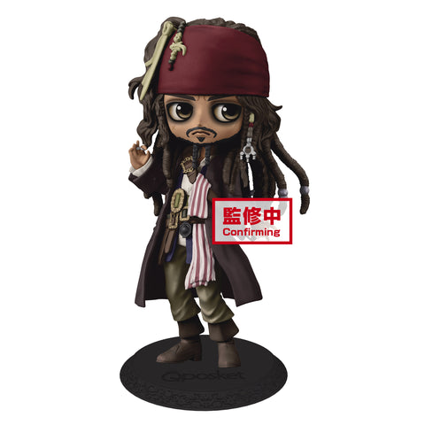 Captain Jack Sparrow - Q Posket - Pirates of the Caribbean (Pre-order)