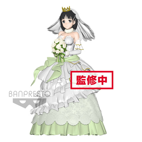 Suguha Wedding Version - EXQ Figure - Sword Art Online Code Register (Pre-order)