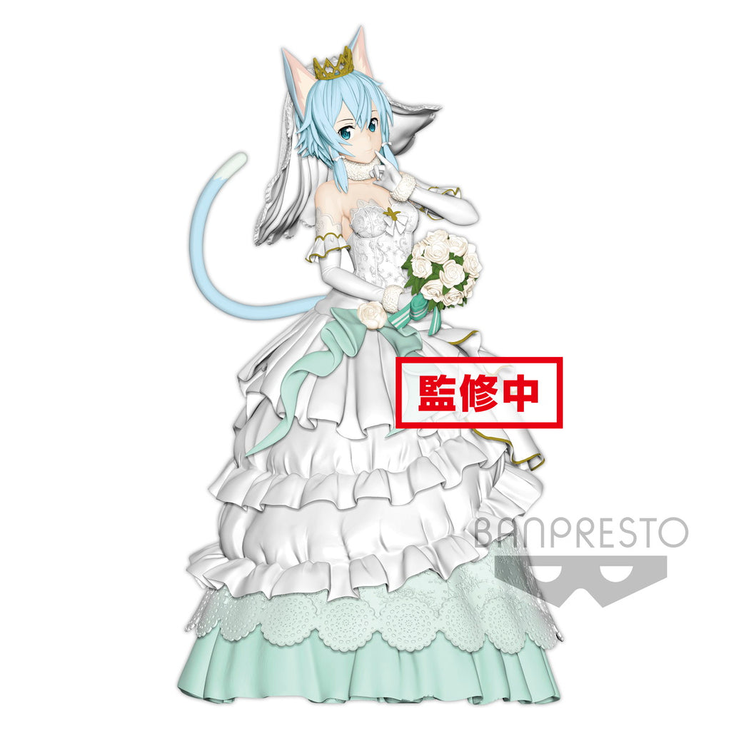 Sinon Wedding Version - EXQ Figure - Sword Art Online Code Register (Pre-order)