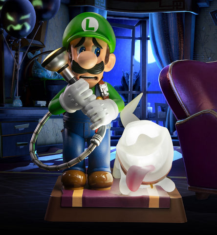 Luigi - Collector's Edition Statue - Luigi's Mansion 3