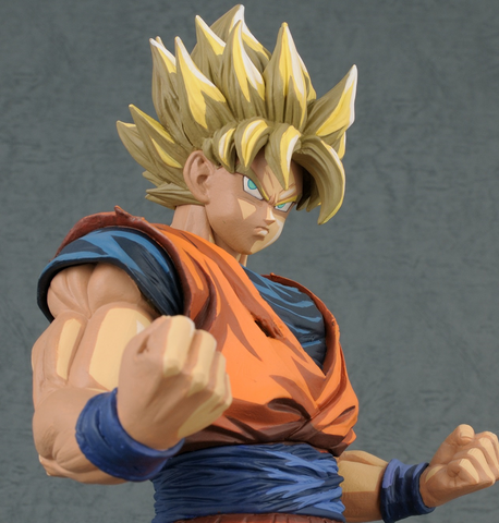 Super Saiyan Goku - Manga Dimensions - Dragon Ball Z