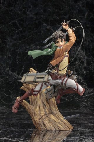 Eren Yeager Renewal Package ver. - ARTFX J  - Attack on Titan