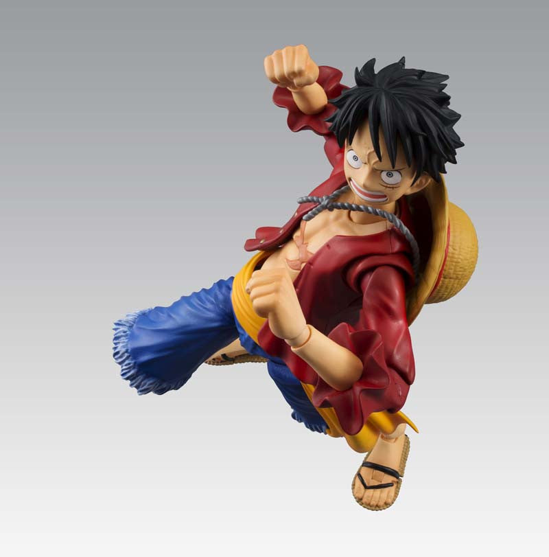 Monkey D. Luffy Variable Action Heroes One Piece (Repeat) - Ravenshire Hobby - 4