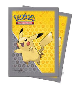 Pikachu - 65 Card Sleeves - Pokemon