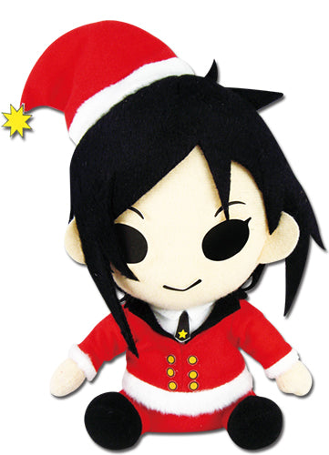 Sebastian Christmas Costume - Plush - Black Butler