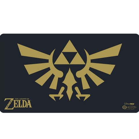 Gold & Black Triforce - Playmat - The Legend of Zelda