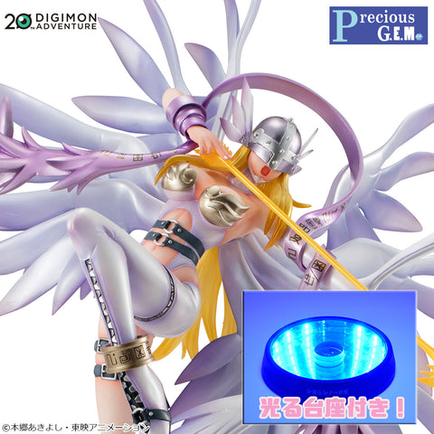 Angewomon Holy Arrow Version with LED Stand - Precious G.E.M. Series - Digimon Adventure (Pre-order)