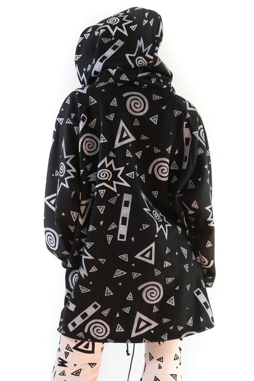 Art School Black Fleece Hoodie