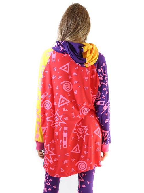 Mamadoux Life Colorblock Hooded Shirt