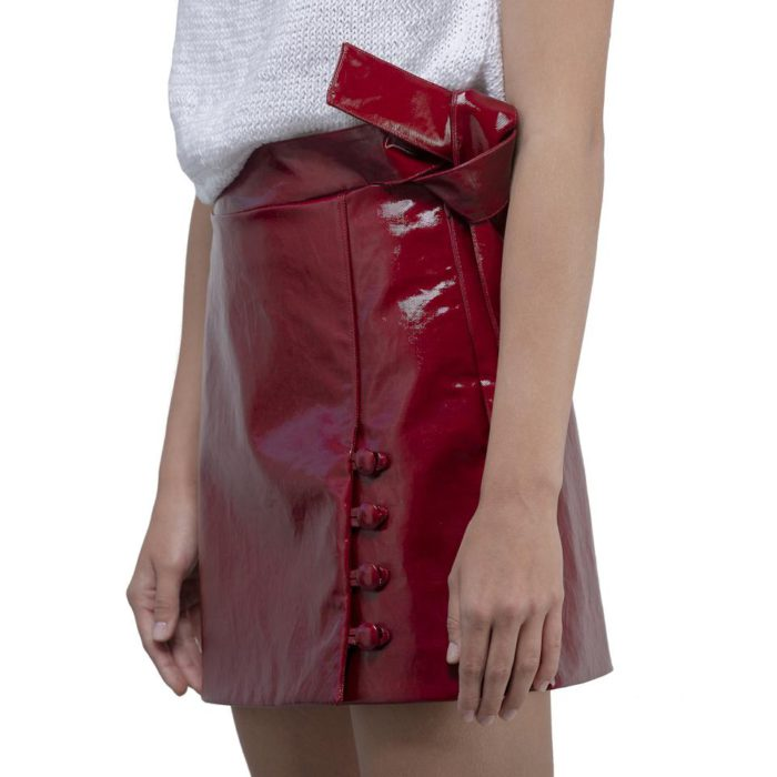 ellementi leather skirt