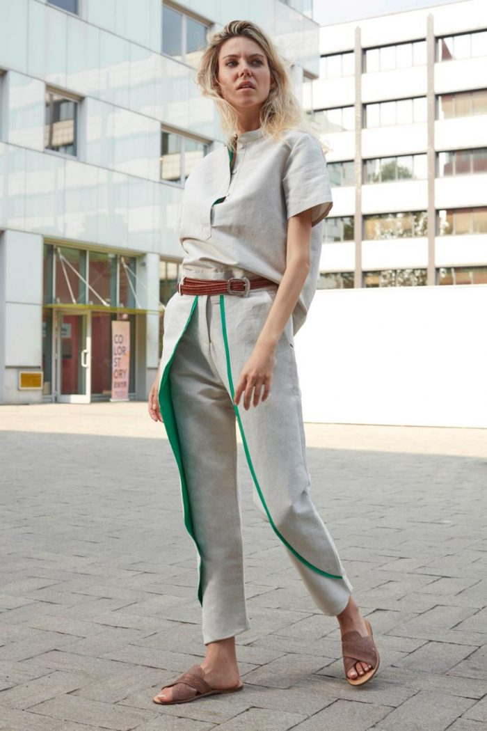 total look white and green bav tailor spring summer 2020 collection