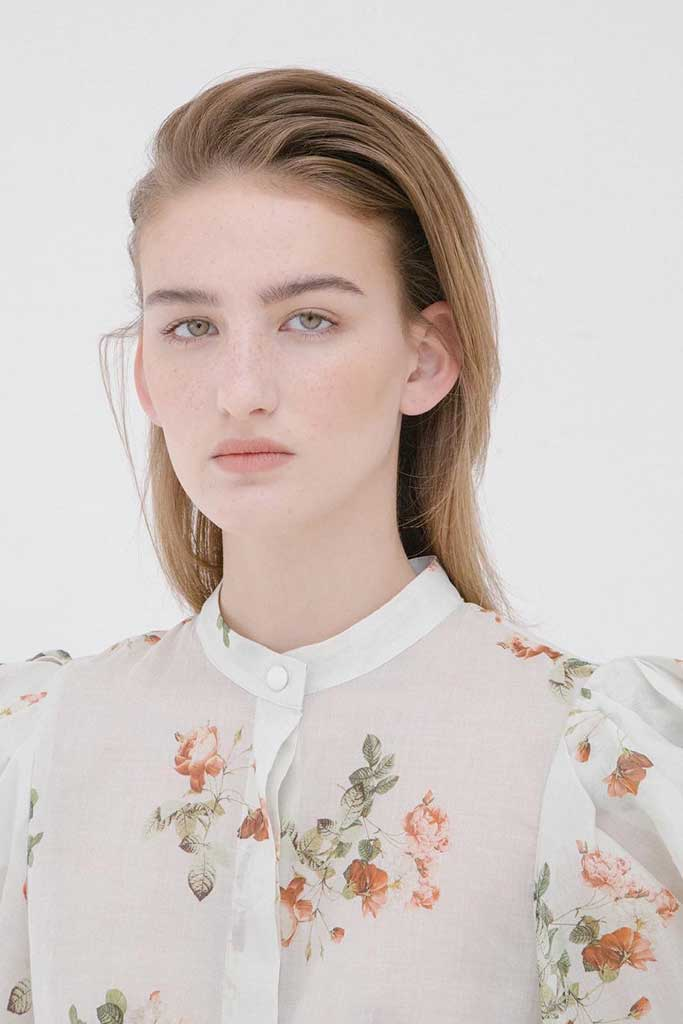 Circus Hotel floral blouse