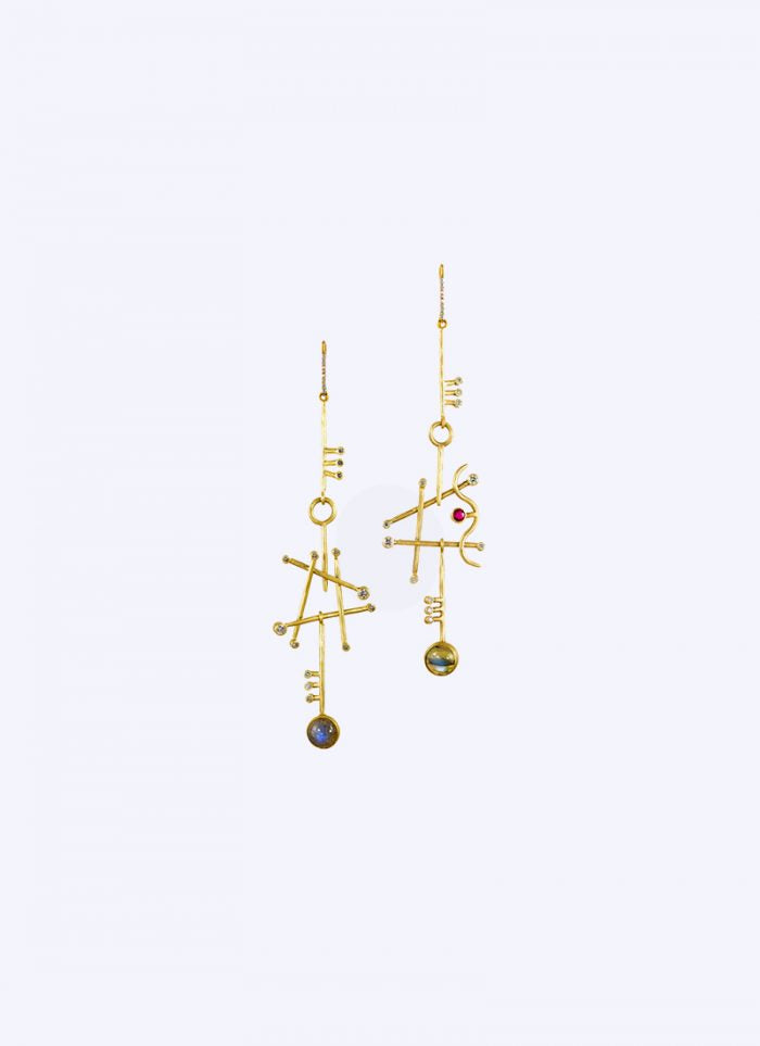 Milano Jewelry Week: earings by Margery Hirschey