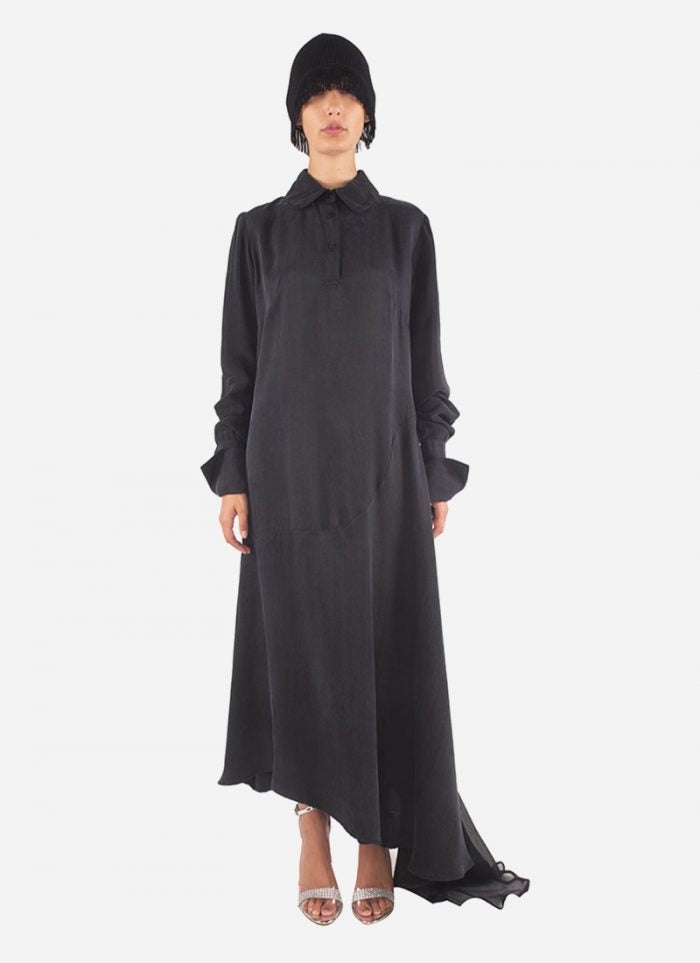 The Look Rock-Chic: long dress by The B.