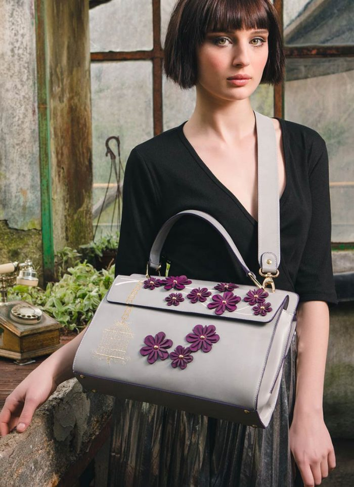 The Micam & Mipel, the new trends of the year on stage: bag by Agata Bags.