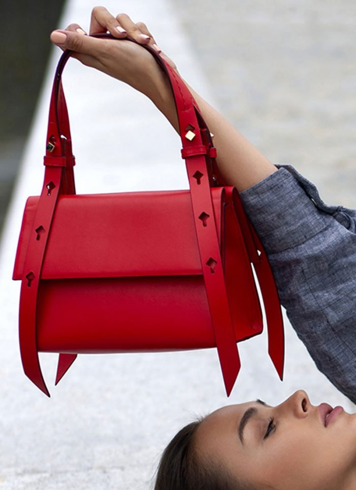 The Micam & Mipel, the new trends of the year on stage: bag by LARA BELLINI.
