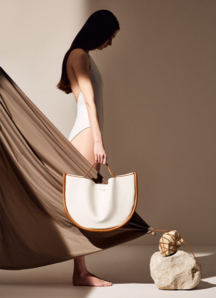 White Women's Collections + Accessories: handbag by Melip