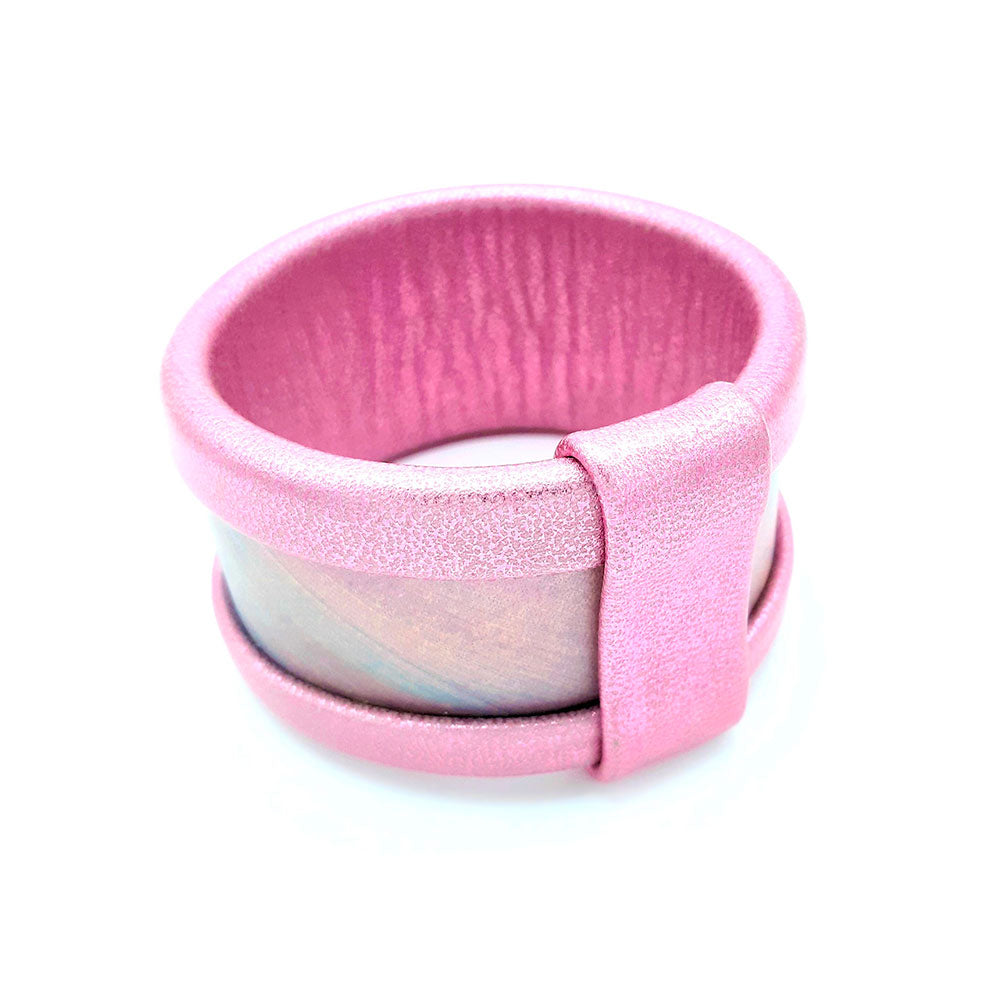 Bangle Texture collection PINK RAINBOW
