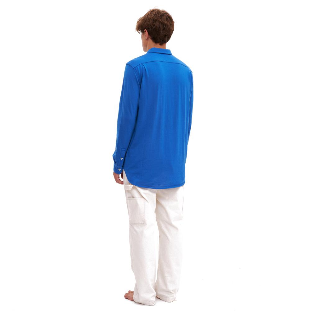 Bellariva Blue - Lungomare.¬Ý100% cashmere made in Italy shirt.