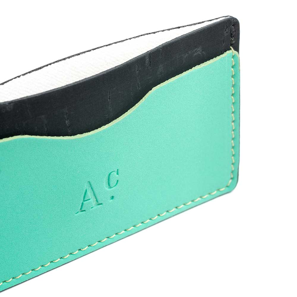 Adealide C Water Card Holder blue detail